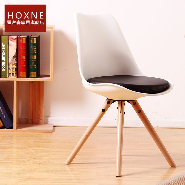 Хо Kesen тюльпан стул деревянный стул моды стул офисные кресла выставочный зал с белый кофе