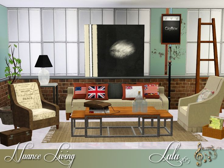 Exceptional Nuance Living For Sims 3 Found In TSR Category U0027Sims 3 Living Room Setsu0027 Part 28