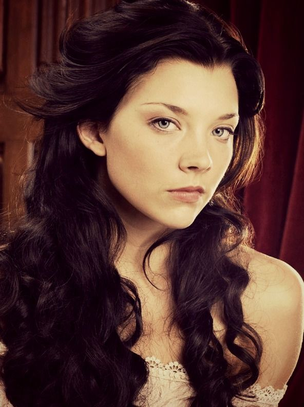 Natalie Dormer as Anne Boleyn  -- promoshoot for season 1