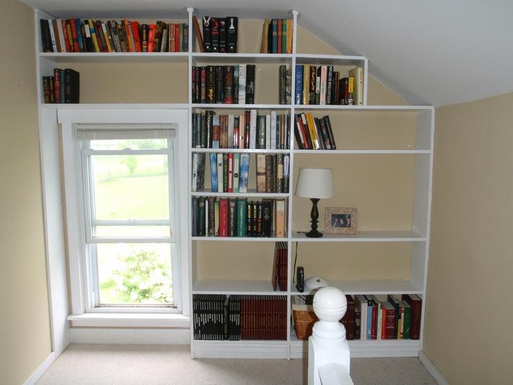 Wall Bookshelf Ideas 64 best bookshelf wall window ideas images on pinterest | window