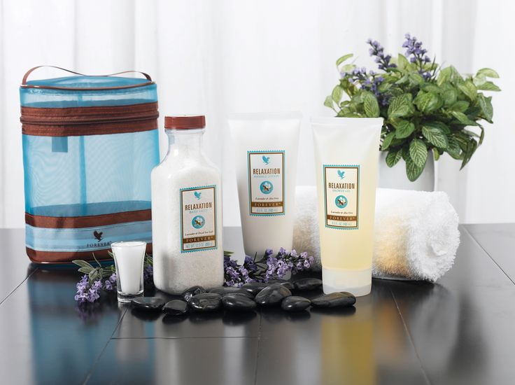 A luxurious three-piece collection for an in-home aromatherapy spa experience. Indulge your body with high quality ingredients including aloe vera, lavender, white tea and essential oils found in the Relaxation Bath Salts, Relaxation Shower Gel and Relaxation Massage Lotion.