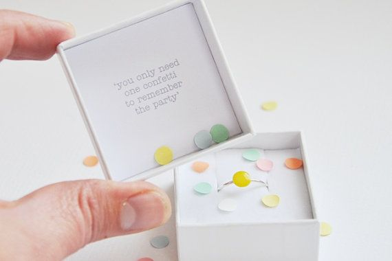 "Smart! ""You only need one confetti to remember the party"" by Twinklebird"