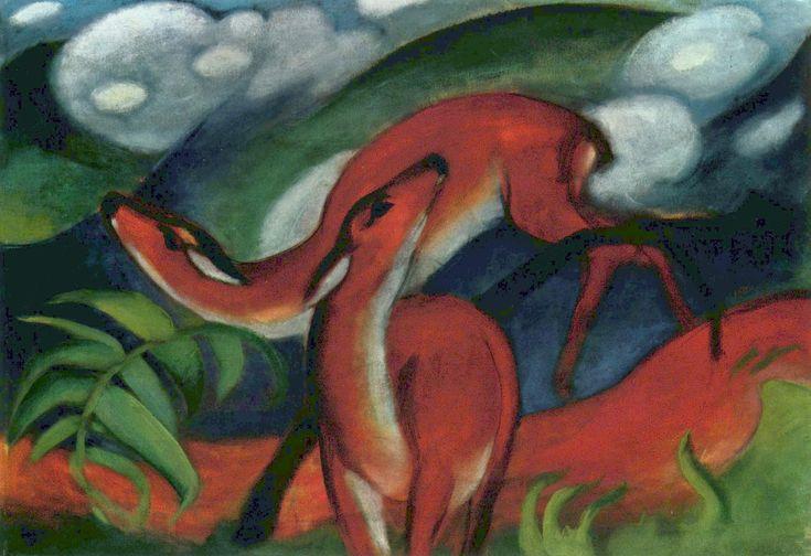 German Expressionism - Franz Marc Deer