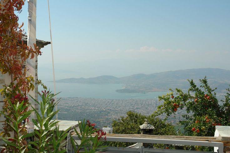 Airbnb listing, Villa in Makrinitsa , Greece