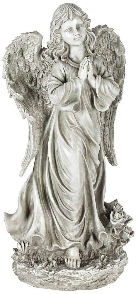 Top 25 ideas about angel garden statues on pinterest for Praying angel plant