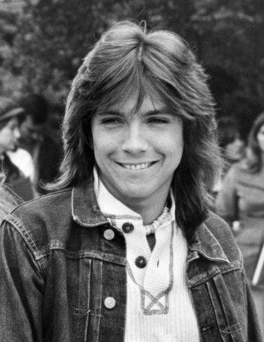 Oh so cute, teen heartthrob David Cassidy, 1970s.