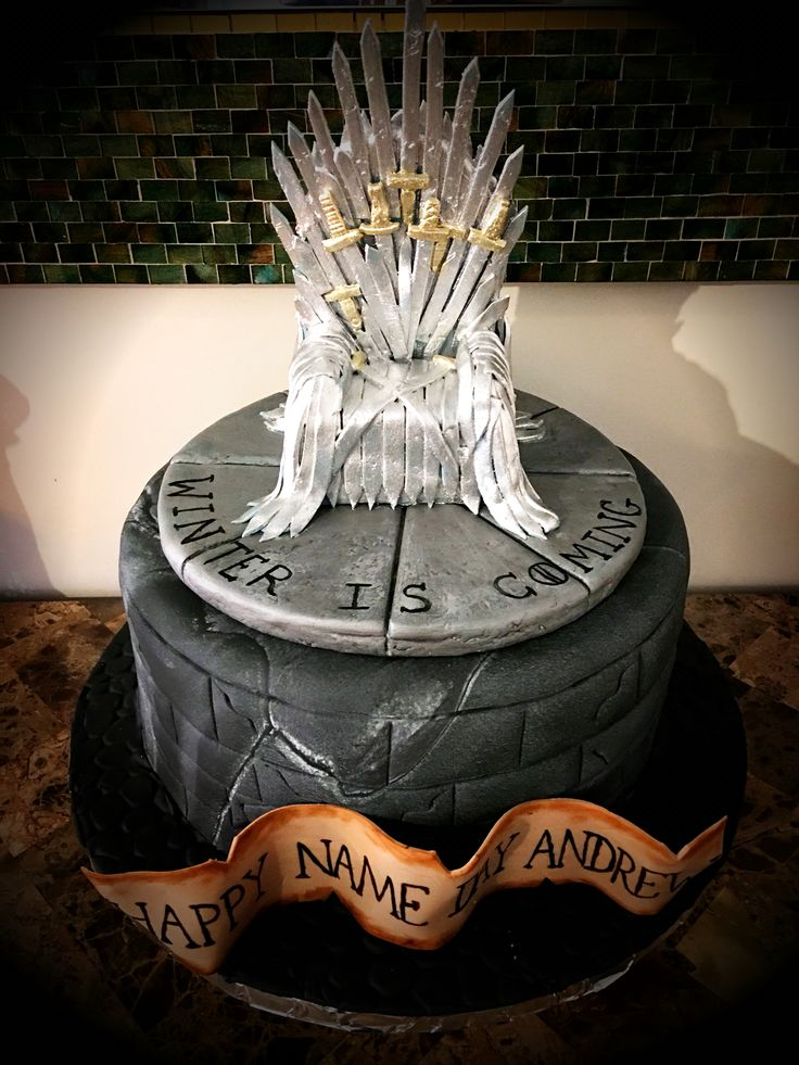 Game of Thrones cake  MY CAKES in 2019  Game of thrones
