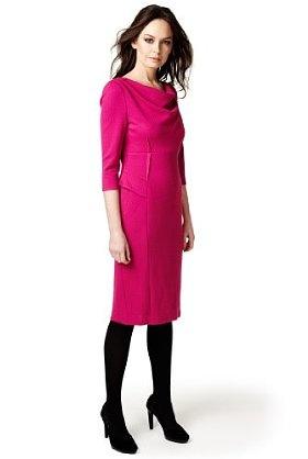 Per Una Textured Shift Dress