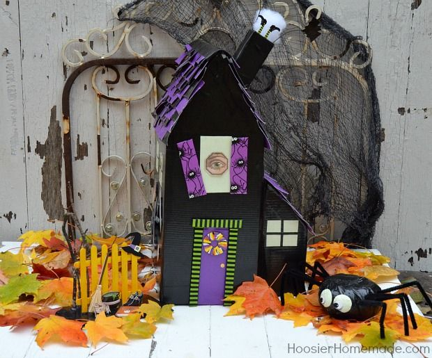 How to make a haunted house with duck tape walmart mom for How to make a cardboard haunted house