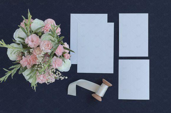 Wedding Invitation Suite Mockup Wedding Mockup Pinterest
