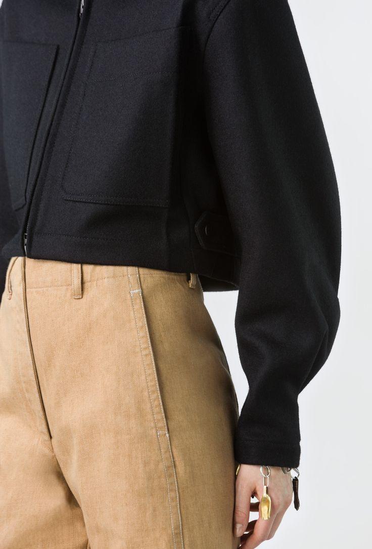 zipped blouson - Lemaire online shop