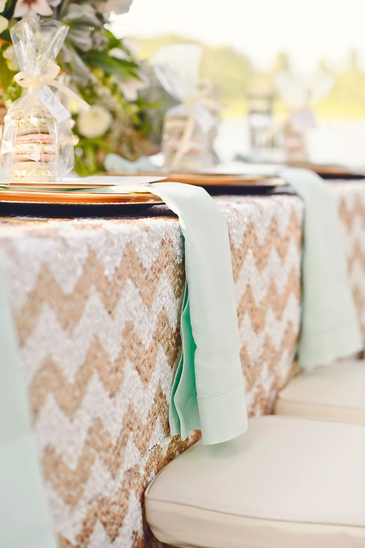 163 best mint weddings images on pinterest mint weddings for Mint and gold wedding dress