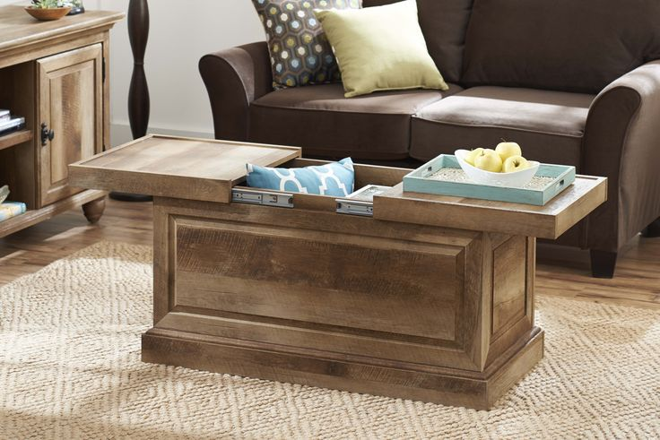 walmart living room tables options better homes and gardens crossmill collection coffee table ...