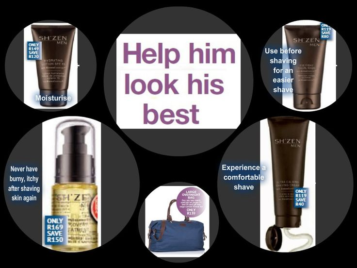 Sh'Zen Men's range on special with an amazing overnight bag on offer if you purchase any 2 men's products