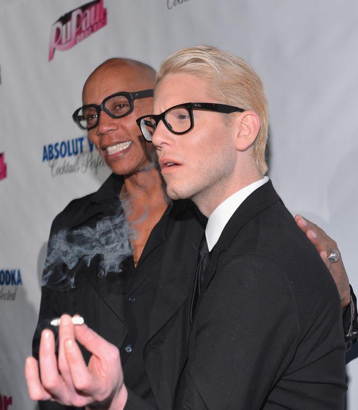 "RuPaul and Sharon Needles - Premiere Of ""RuPaul's Drag Race"" Season 5 ..."