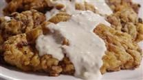 This recipe for chicken fried steak includes a batter spiked with Tabasco Sauce and a pan gravy that is sure to satisfy all the chicken fried steak lovers at your table.