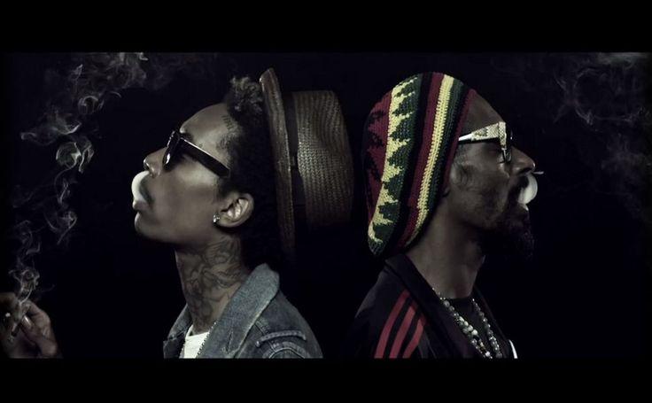 Snoop Dogg & Wiz Khalifa French Inhale HD Wallpaper