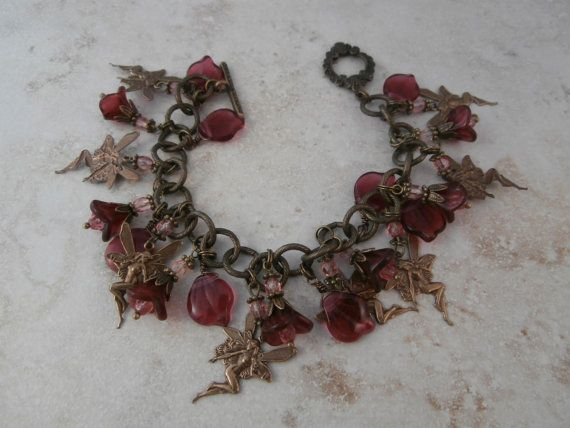 Mothers day.  I found this really awesome Etsy listing at https://www.etsy.com/listing/184807409/antique-brass-fairy-charm-bracelet