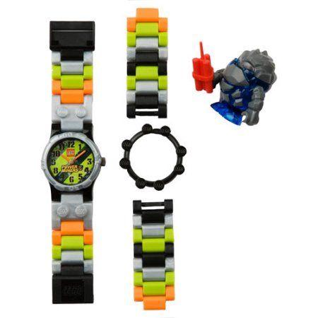 Lego Kids' Power Miner Watch, Multicolor