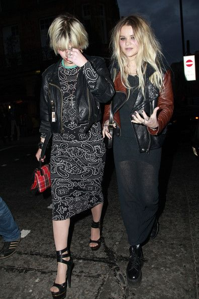"Pixie Geldof and Daisy Dares You at the  ""Teen Vogue"" Book Launch Party"
