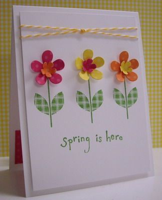 Spring is here! by Loll Thompson - Cards and Paper Crafts at Splitcoaststampers