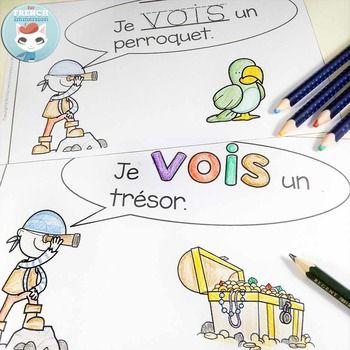French Emergent Reader: je VOIS. Pour les lecteurs débutants.