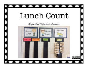 This is a great way to simplify attendance and also keep track of the lunch count. At the beginning of the day have the students put the clothes pi...