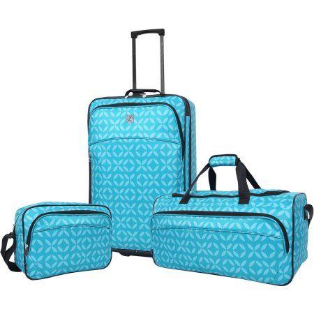 Protege 3-Piece Luggage Set, Blue