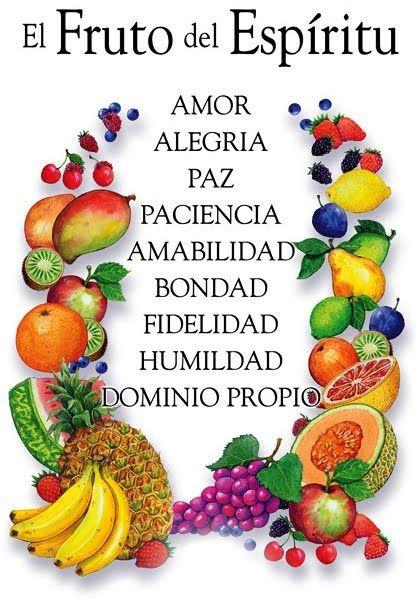 Es importante que se tenga el fruto de Espiritu para vivir.