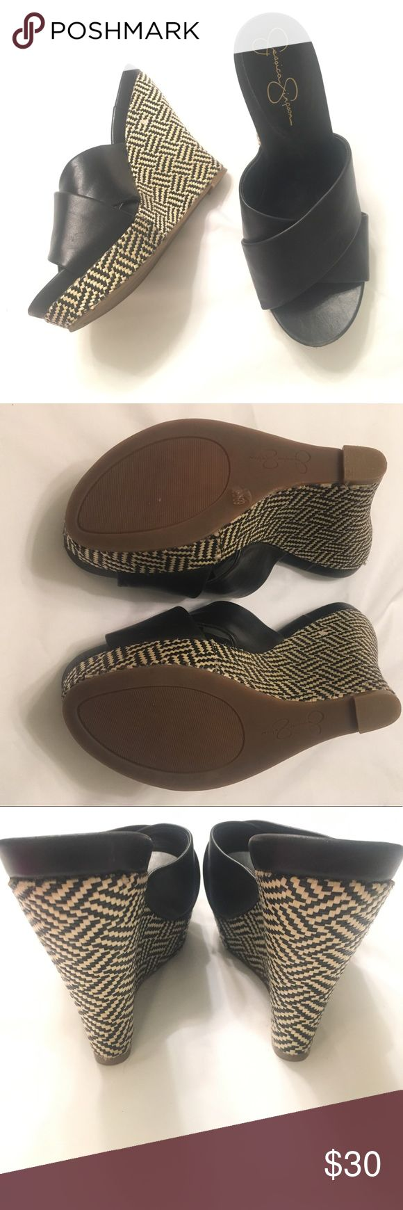 Jessica Simpson wedges sz 6 NWOT Jessica Simpson wedges sz 6 Jessica Simpson Shoes Wedges