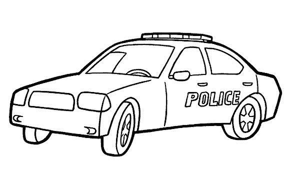 11 Exclusif Coloriage De Police Gallery Mobil Polisi Gambar Warna