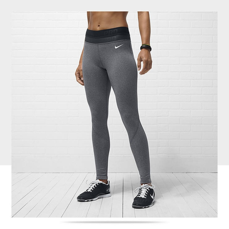 nike pro hyperwarm leggings fitness exercise gym sport nike pro compression my style. Black Bedroom Furniture Sets. Home Design Ideas