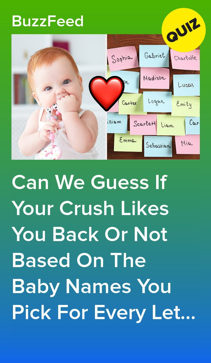 Pick A Baby Name For Every Letter Of The Alphabet And We ...