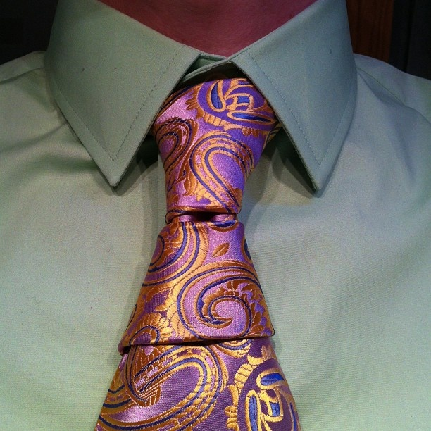 Aperture Knot Tie Tie: Krasny Hourglass Knot My Own Invention!