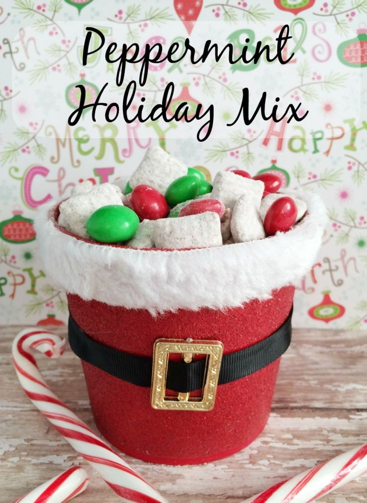 A Little Help for the Holidays from Kraft: Peppermint Holiday Mix Recipe #KraftHolidaySavings