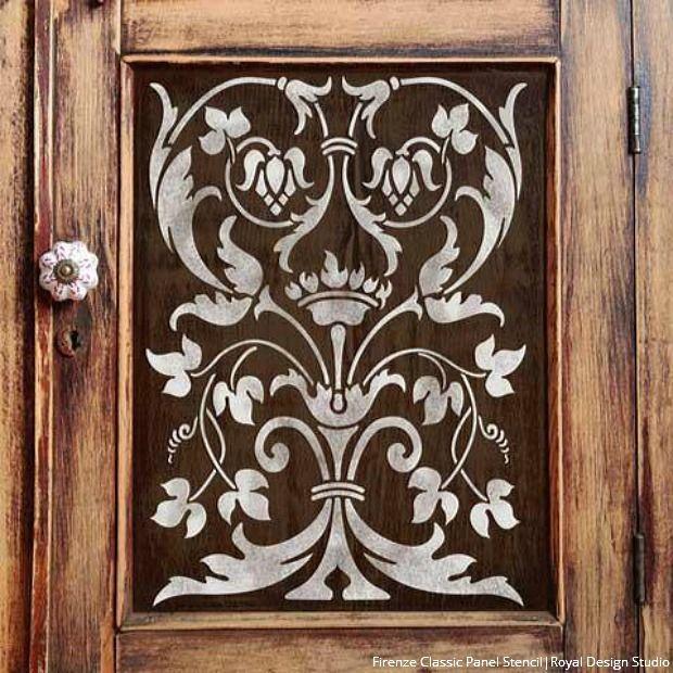 La Vida Dolce: Italian Style Decorating with Stencils - DIY Wall and Furniture Interior Design Ideas - Royal Design Studio Stencils