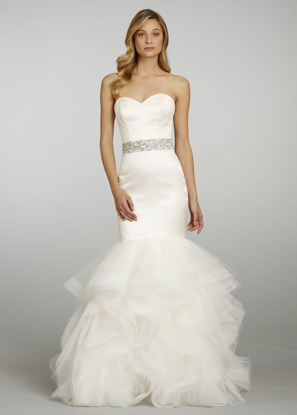 1000 images about trumpet skirts on pinterest sewing for Trumpet skirt wedding dress