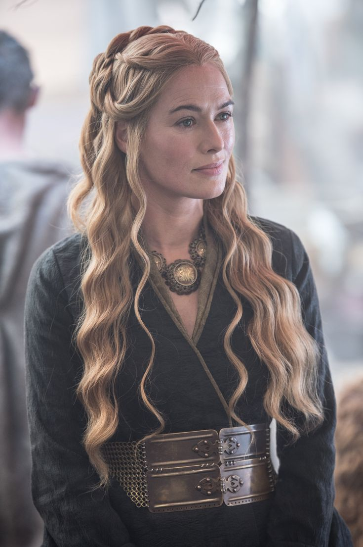 Cersei Lannister, this face is amazing, she can make anyone look about two inches tall