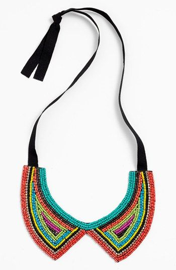 Spring Street Beaded Collar Necklace available at #Nordstrom statement necklace