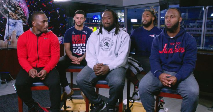 The Patriots running backs are a tightknit group on and off the field. Led by LeGarrette Blount, Dion Lewis and James White learn what makes this squad special when we sit down with the entire unit and their coach Ivan Fears.