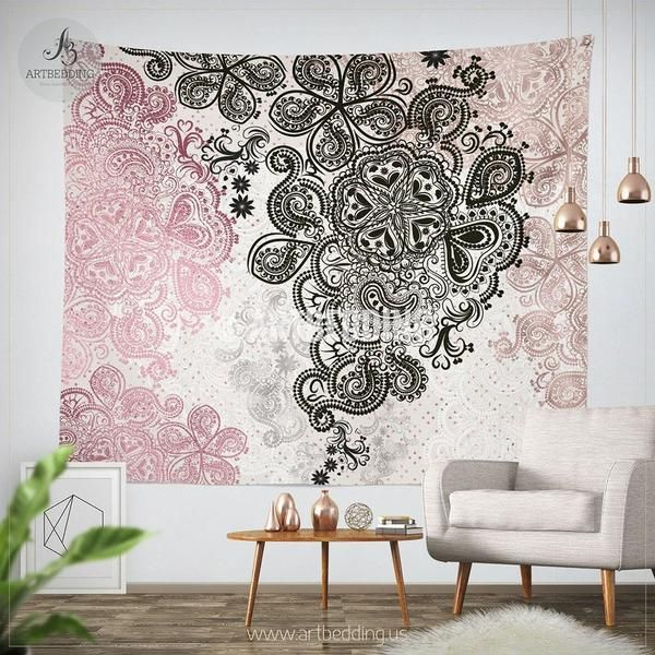 207 best bohemian wall tapestry designs mandala art decor bohochic interior images on. Black Bedroom Furniture Sets. Home Design Ideas