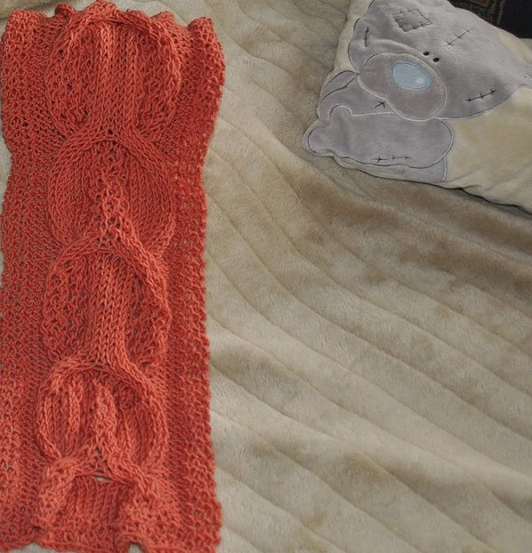 great salmon color scarf for ladies,acrylic\wool