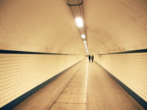 Un tunnel ad Anversa.