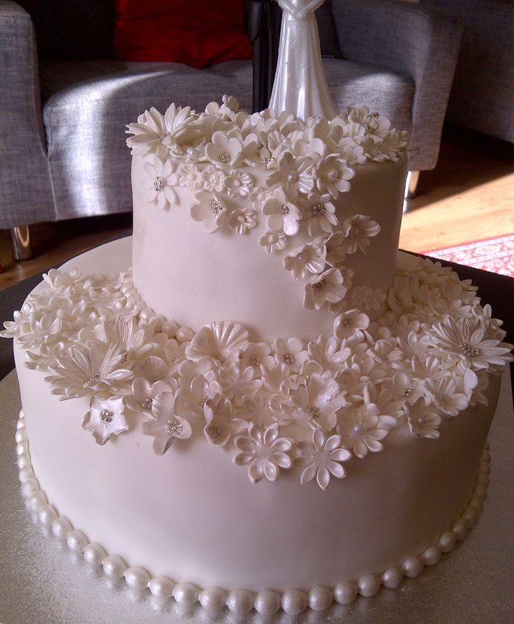 Allemaal witte bloemetjes!