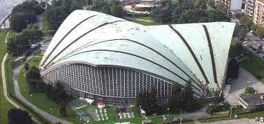 Palazzo a vela (prima dei XX Giochi Olimpici Invernali di Torino 2006) - Torino