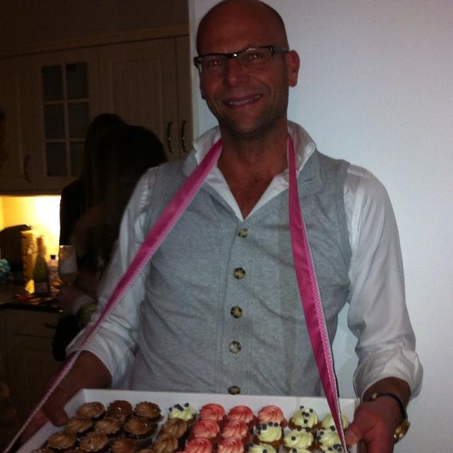 Feestje bij Paul van der Linden