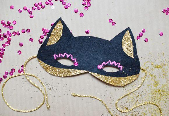 DIY: masque chat