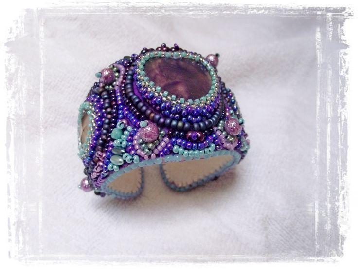 Purple&turquose blue