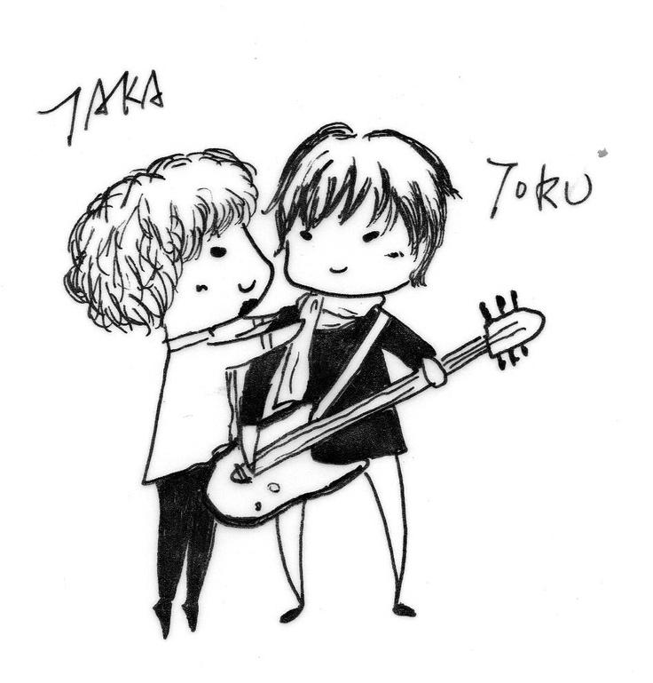 One OK Rock - Taka Toru In Taiwan's concert. Sooooooooooooooo sweet! Why don't they get married? XD