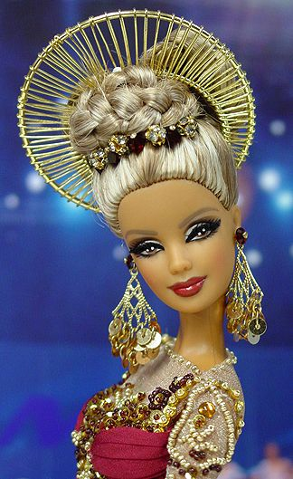 Miss Lebanon Barbie Doll 2008